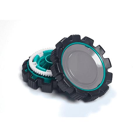 Сменные резиновые колеса Mirra для негладких поверхностей