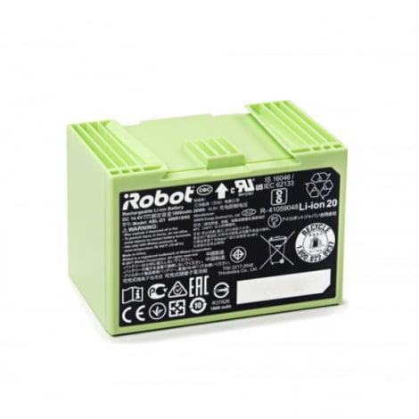 Аккумуляторная батарея Li-ion,1800 mAh, Roomba, салатовая