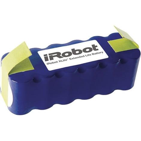 Аккумуляторная батарея для Roomba модифицированная (синяя)