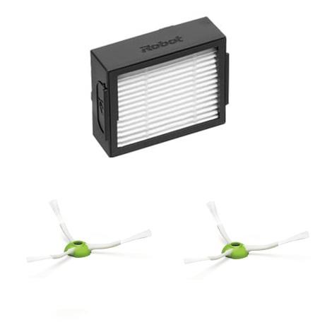 Комплект фильтр и 2 щетки для Roomba e5, i7