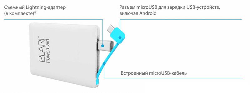 Elari Power Card инструкция - фото 3