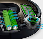 Технология трехступенчатой уборки Roomba 980