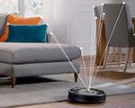Визуальная система ориентирования iRobot Roomba 980
