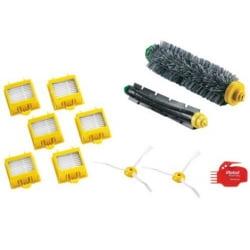 Набор для 700 серии, щетка ворсяная, щетка резиновая, боковые щетки - 2 шт, 6 фильтров, гребенка для чистки
