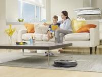 Внешний вид робота-пылесоса iRobot Roomba 886